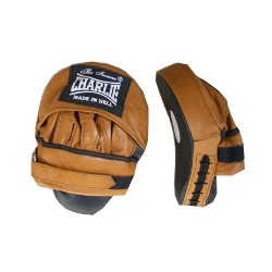 Charlie curved boxing mitts