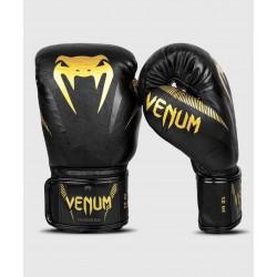 Venum boxing gloves impact black/gold