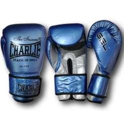 Boxing gloves Charlie metallic (blue)