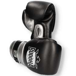 Buddha boxing gloves pro gel (black/silver)