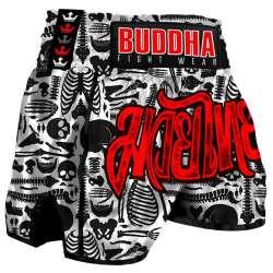 Buddha muay thai shorts skeletor