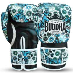 Buddha boxing gloves mexican (blue)
