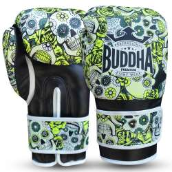 Buddha muay thai gloves mexican (yellow)