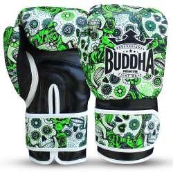 Buddha kick boxing gloves mexican (green)