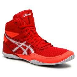 Asics boxing boots matflex6 red/white (unisex)