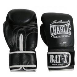 Charlie Bat-X boxing gloves black