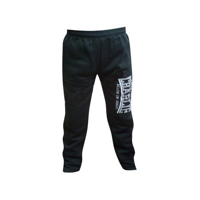 Charlie black cotton pants