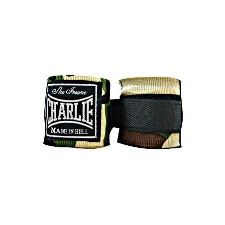 Charlie camouflage boxing hand wraps