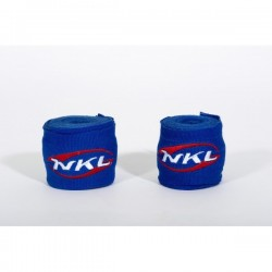 NKL boxing hand wraps blue