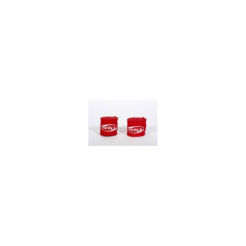 NKL boxing hand wraps red