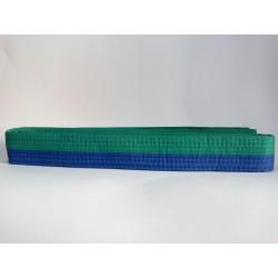 NKL judo belt green/blue