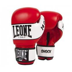 Leone kick boxing gloves shock (red)
