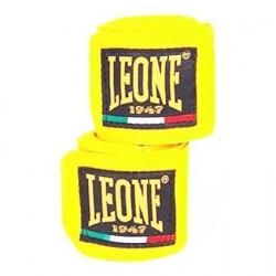 Leone boxing hand wraps fluor yellow