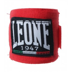 Leone boxing hand wraps red