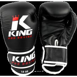 King pro boxing gloves KPB/BG3 black