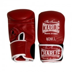 Charlie monk punching mitts red