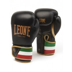 Leone boxing gloves italy (black)