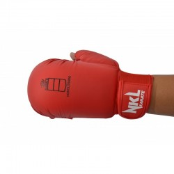 NKL karate mitts red