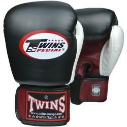 Twins muay thai gloves BGVL 4 red/black /white
