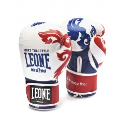 Leone muay thai gloves thai (white)