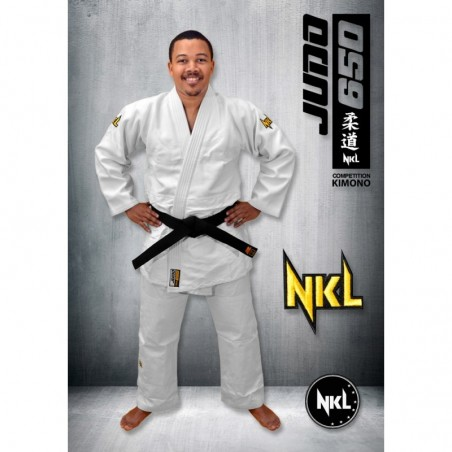 NKL Judogi competition DS white