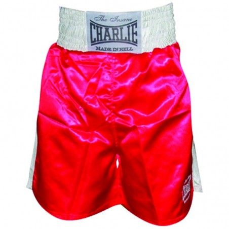 Charlie X Boxing shorts red