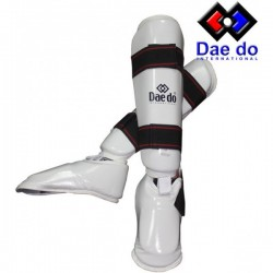 Daedo pr1582 Shinguards white