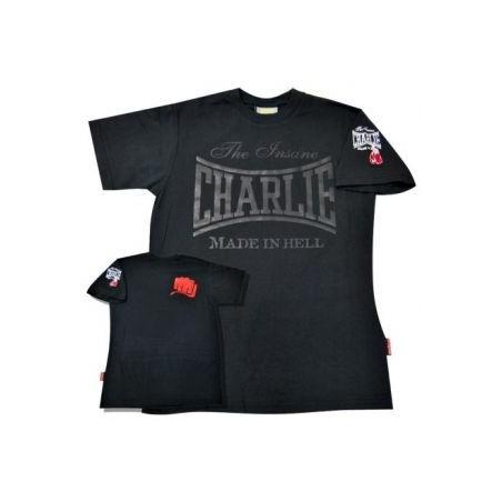 Charlie t-shirt  Black