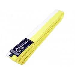 Arawaza Karate Belt white/yellow