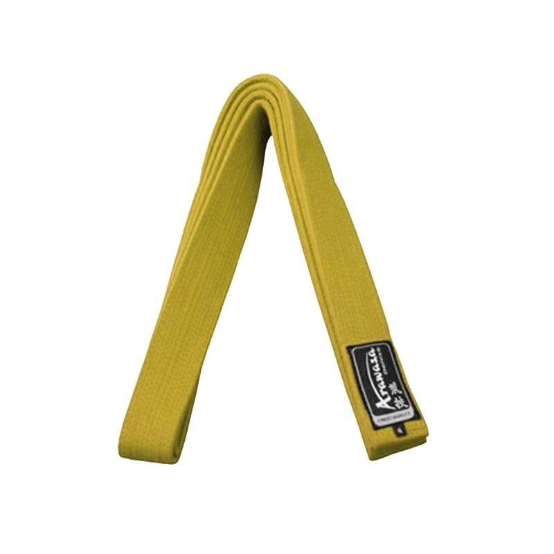 Arawaza Karate belt yellow