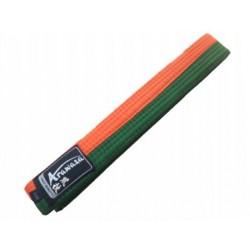 Arazawa Karate Belt orange/green