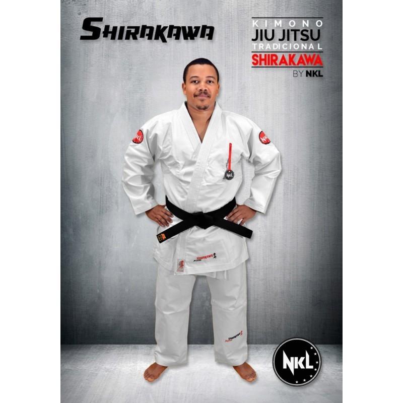 NKI Shikarawa Jiu jitsu kimono white