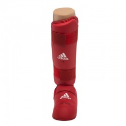 Approved Adidas Karate 661.35 shin guards red