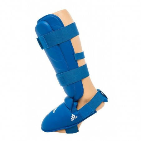 Adidas Karate 661.35 Shin guards approved blue