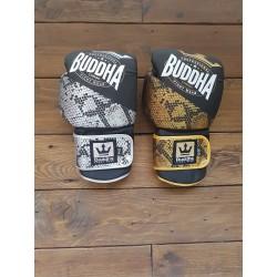 Buddha boxing gloves combo