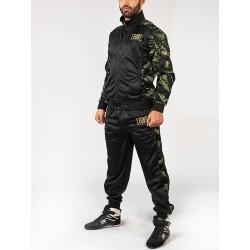 Leone AB796C Black Camouflage Tracksuit