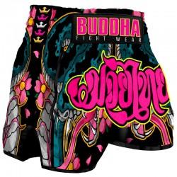 Muay Thai Shorts Buddha Retro Cobra