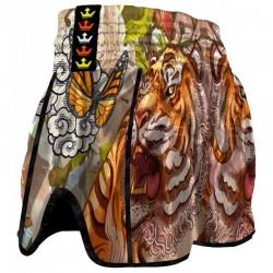 Muay Thai shorts Buddha Retro Tiger
