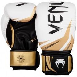 Venum Challenger 3.0 Boxing Gloves White / Black / Gold