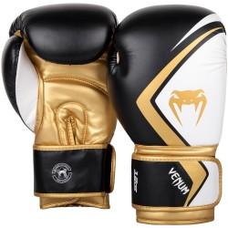 Venum Contender 2.0 Boxing Gloves Black / White / Gold