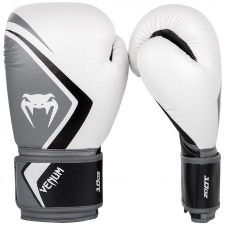 Venum Contender 2.0 Boxing Gloves White / Gray / Black