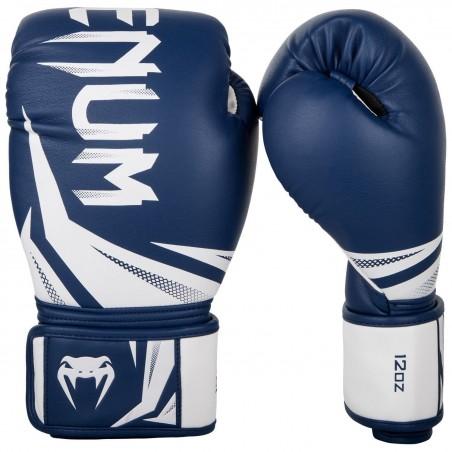 Guantes de boxeo Venum Challenger 3.0 Azul/Blanco