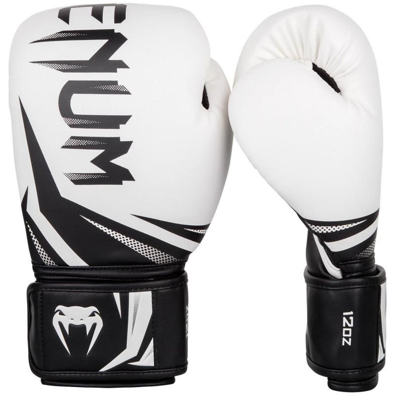Venum Challenger 3.0 Boxing Gloves White / Black