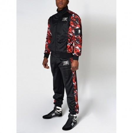 Tracksuit leone AB796 Camouflage Red