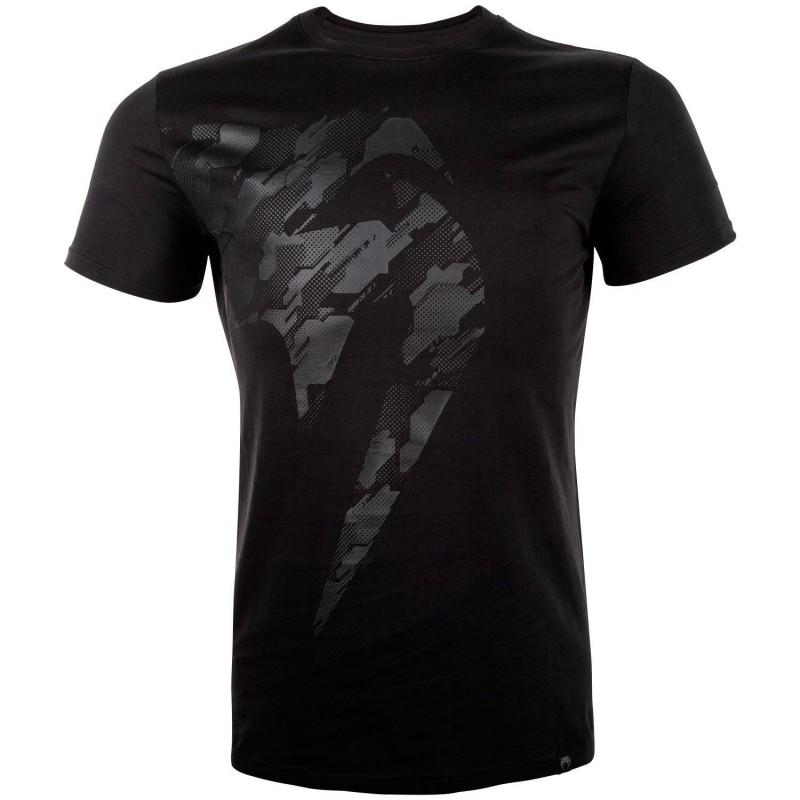 Camiseta Venum Tecmo Giant Negro/Negro