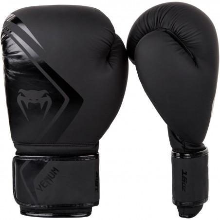 Venum boxing gloves contender 2.0 black/black