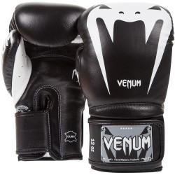 Venum Giant 3.0 Boxing Gloves Leather Black / White