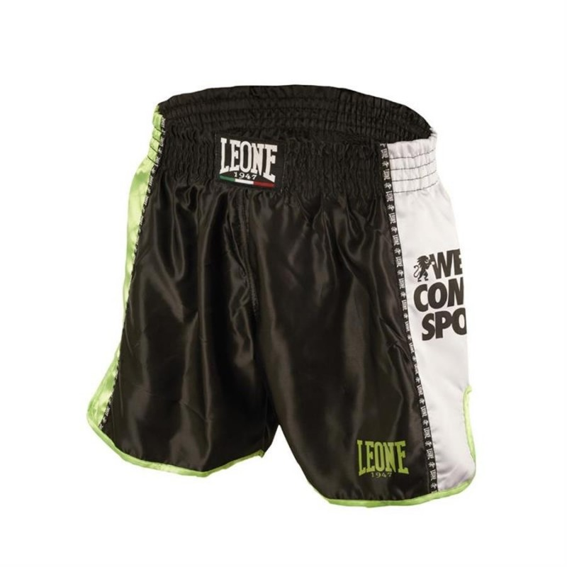 Muay Thai Pants Leone Black AB760