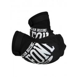 Elbow pads muay thai Leone black